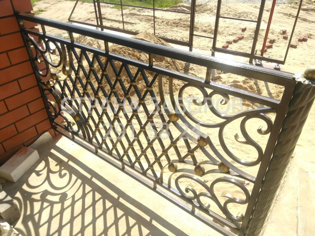 Кованные балконы